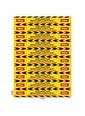 Artikel Sosyal Mesafe Sticker-05 71X10 Cm 10'Lu Set Renkli